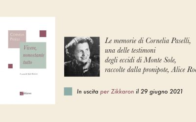 """È uscito """"Vivere, nonostante tutto"""" di Cornelia Paselli"""